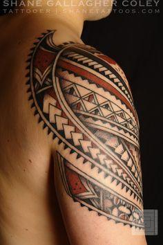 polynesian sleeve tattoos - Google Search