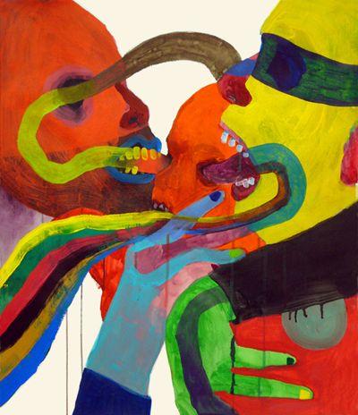 touquetouque:    Brian Kokoska, Good Touch, 2009  Artist of the day: Brian Kokoska, born in Vancouver, BC