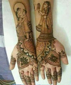#mehendi #designs #henna #karvachauth #indianculture #festive #red Click below link for Mehendi Designs for This Karvachauth.. and to know the significance of Karva Chauth and its rituals http://thestylecircle.com/mehndi-designs-for-this-karva-chauth/