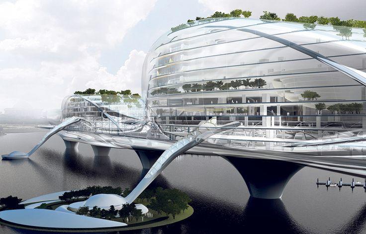 """Deux ponts habités sur la Seine  La capitale va lancer un ambitieux """"appel à projets innovants"""" international d'architecture et d'urbanisme. Au programme, deux immeubles ponts enjambant le fleuve."""