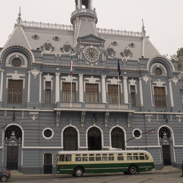 Colonial architecture, Valparaiso, Chile