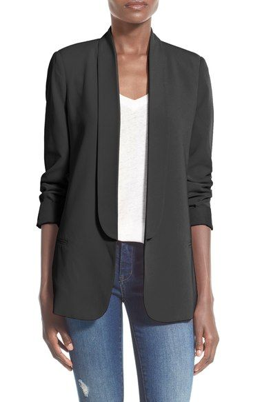 Mural Slouchy Boyfriend Blazer (Online Only) available at #Nordstrom