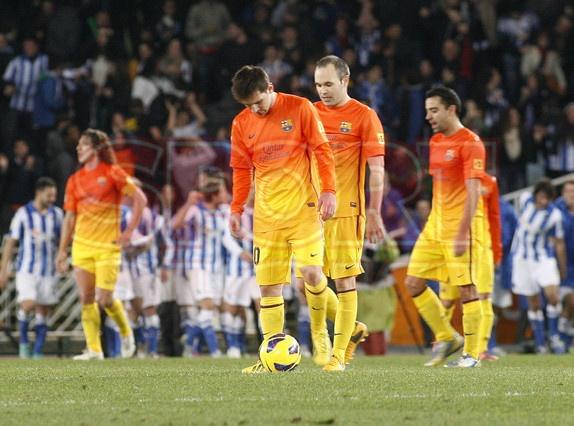 Messi, FC Barcelona |Real Sociedad, 3 - FC Barcelona, 2. [19.01.13]