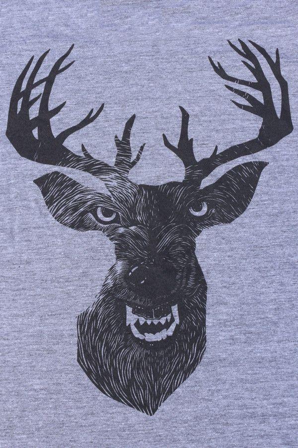 Wolf In Deer T Shirt