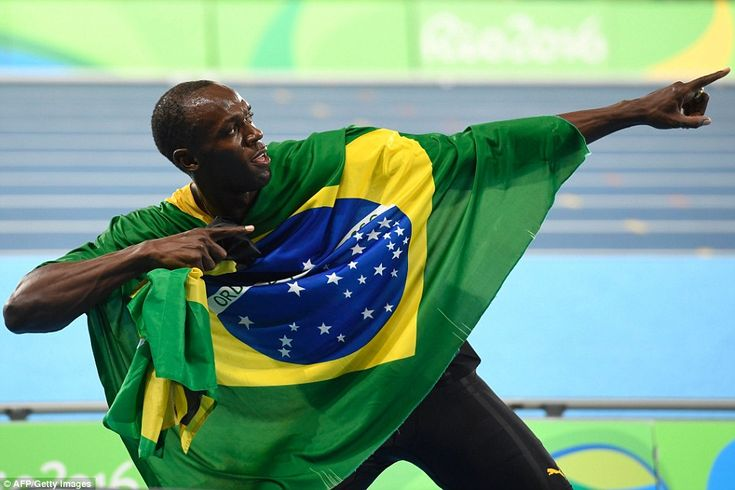 Usain Bolt completed his triple-triple, anchoring the Jamaica 4x100-meter relay…