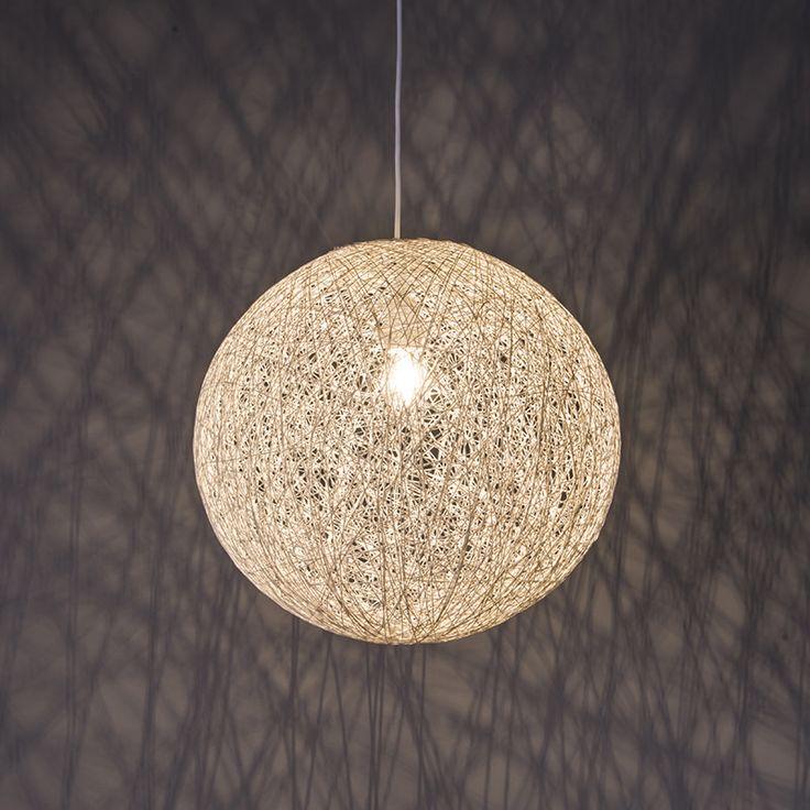 Hanglamp Corda 35 wit - Lampenlicht.nl