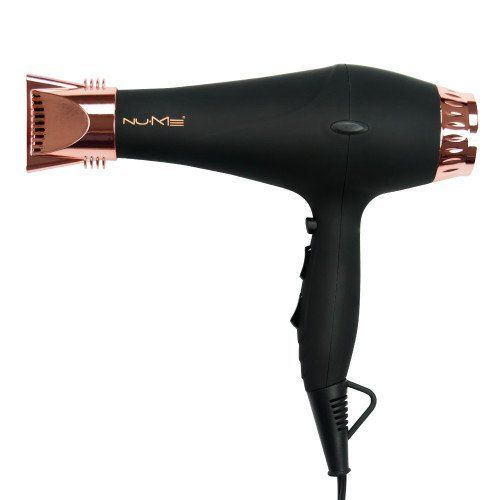 NuMe Stealth Professional Hair Dryer with Advanced Infrared Technology, Black and Rose Gold *** Click image for more details. #hairstylist