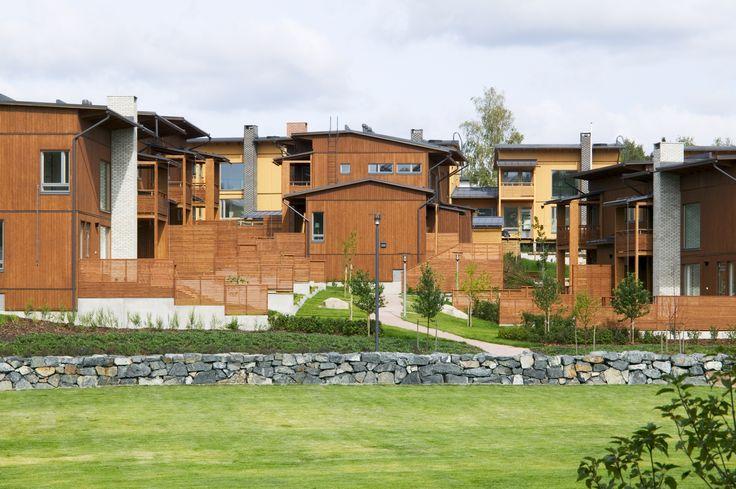Espoo City Villas, Kauklahti, Helin & Co Architects and MRN Architects, 2007