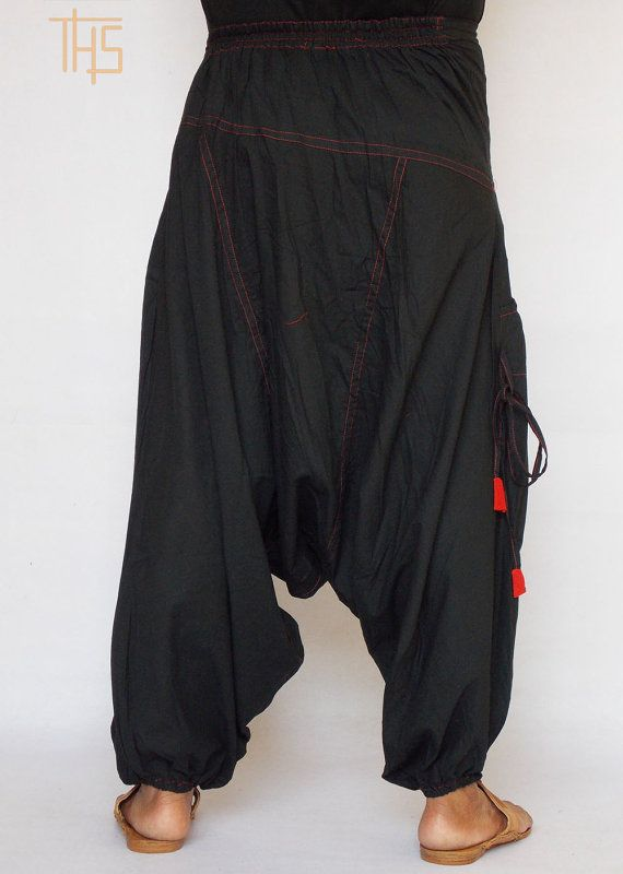 SALE Mens Harem Pants Hammer Pants Samurai Pants by TheHaremShop