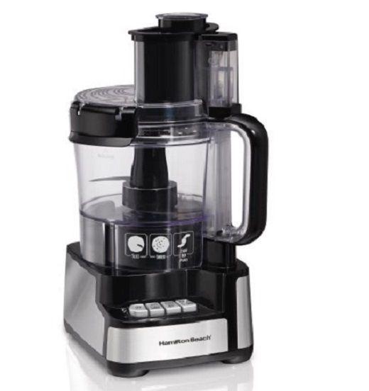 Hamilton Beach Food Processor Blender Baby Food 12 Cup Mixer Kitchen Appliance  #HamiltonBeach