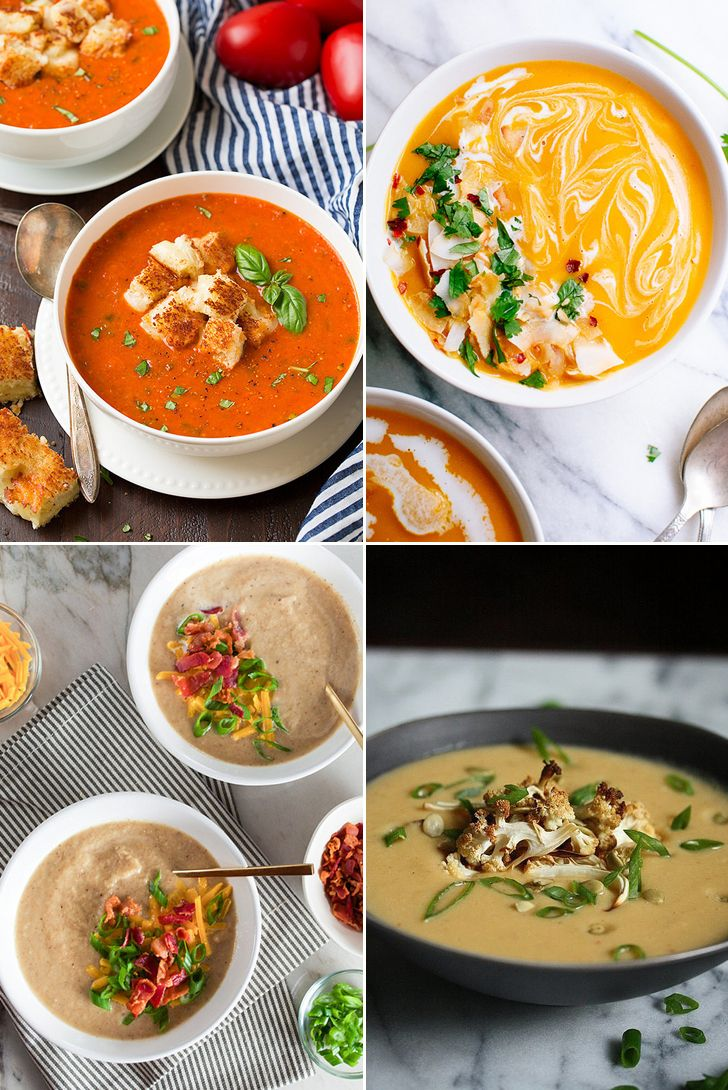 30+ Pureed Soup Recipes That Practically Scream Brown-Bag Lunch