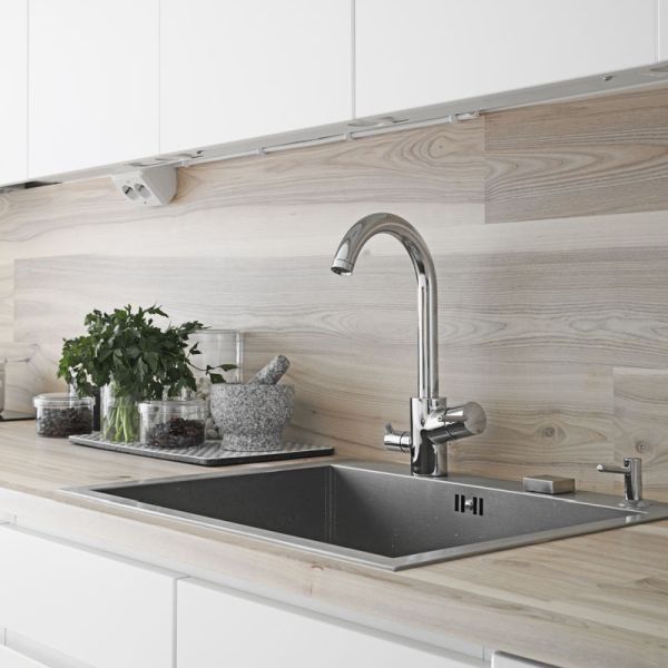 25+ best ideas about Stainless steel splashback on ...