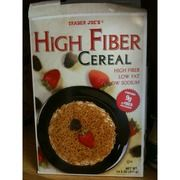 I just looked up Trader Joe's High Fiber Cereal on @Fooducate Fooducate grades foods based on their nutrients and ingredients. Give it a try!
