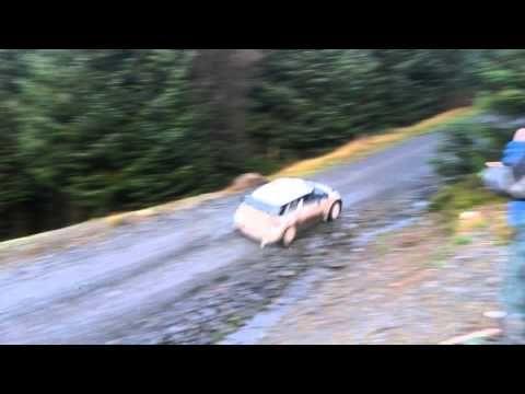Kubica testing wales rally GB 2013