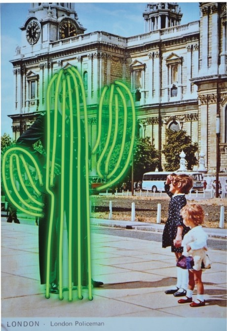 NEON 'CACTUS' SIGN                                                                                                                      ๑෴MustBaSign෴๑