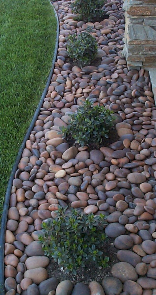 55 Beautiful Front Yard Rock Garden Ideas Frontyardlandscaping