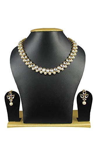 Indian Bollywood Party Wear Ethnic Pearls kundan Women Ne... https://www.amazon.com/dp/B01N4PQ5JS/ref=cm_sw_r_pi_dp_x_TtYJyb3EVSZ3W