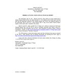 Merrill Lynch B.V. Files Annual Financial Report