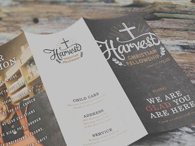 Harvest Christian Fellowship Mockups by http://www.visualjams.com/