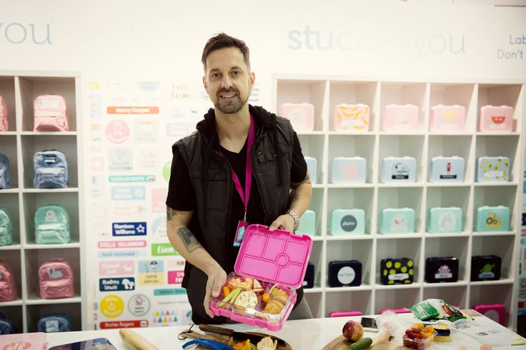 Stuck On You will be at our Perth Expo and they're bringing George the School Lunch Box Guy too! George will be doing Bento demos daily. 11-13 August 2017. Free Tickets on our website, or $20 at the door!