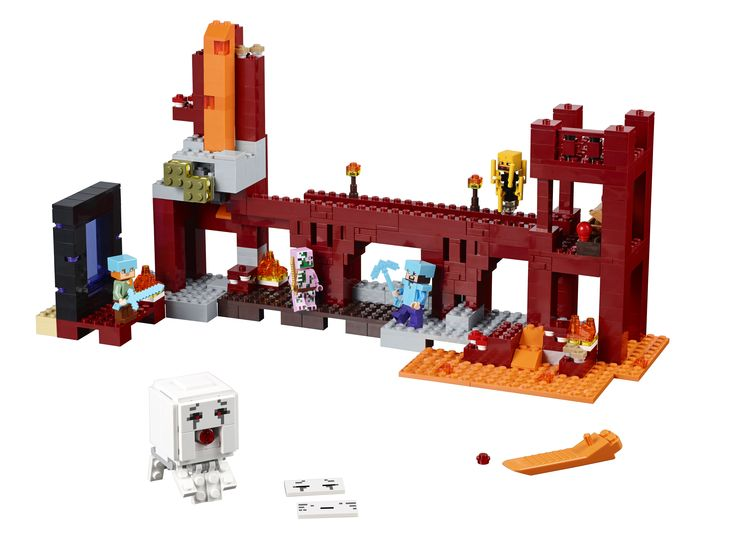 Lego Minecraft Die Netherfestung 21122