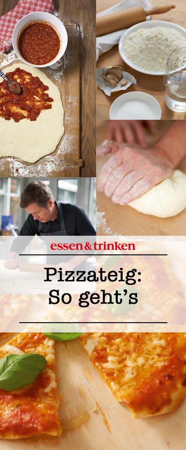 Pizzateig Rezept Rezepte Pinterest Pizza Pizza Recipes Und