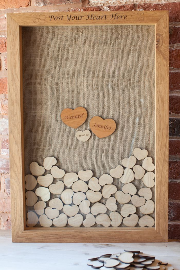 Guest Book Board - brilliant idea!