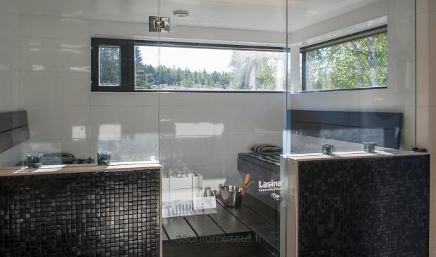 Tulikivi Nuoska at Asuntomessut. Google Image Result for http://www.asuntomessut.fi/sites/default/files/imagecache/content/26-villailo-sauna.jpg; nice looking sauna