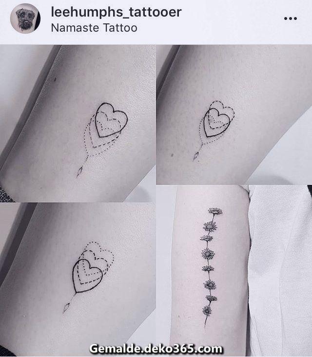 Beautiful dude love nesting to match sister heart tattoos