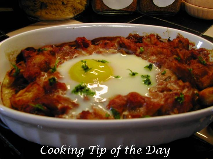 In keeping with the leftover theme… today's post is for Provencal Eggs… if you recall we made Eggplant Provencal over Penne Pasta last…. ...