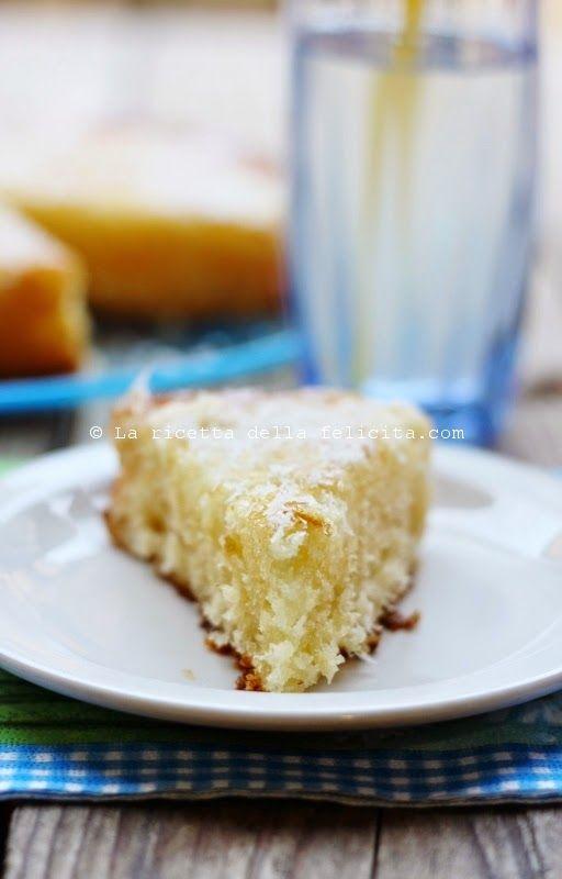 La ricetta della felicità: Torta soffice ananas e cocco senza glutine, senza burro.