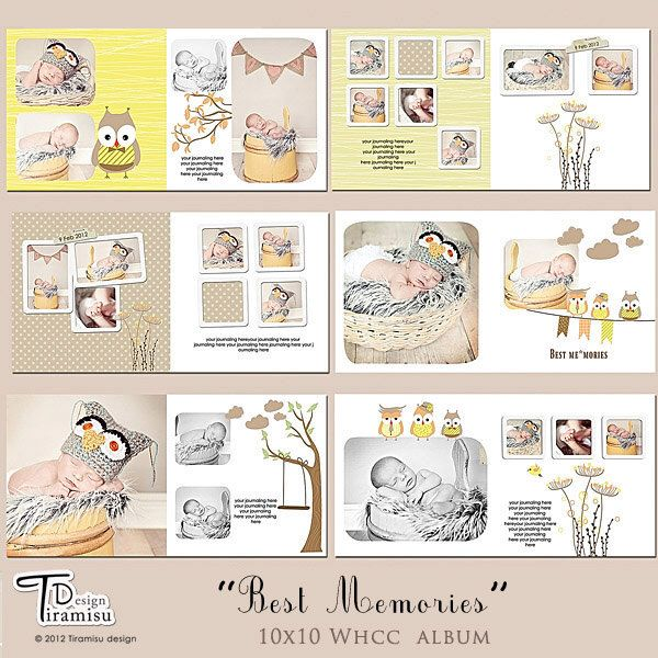 photo books templates