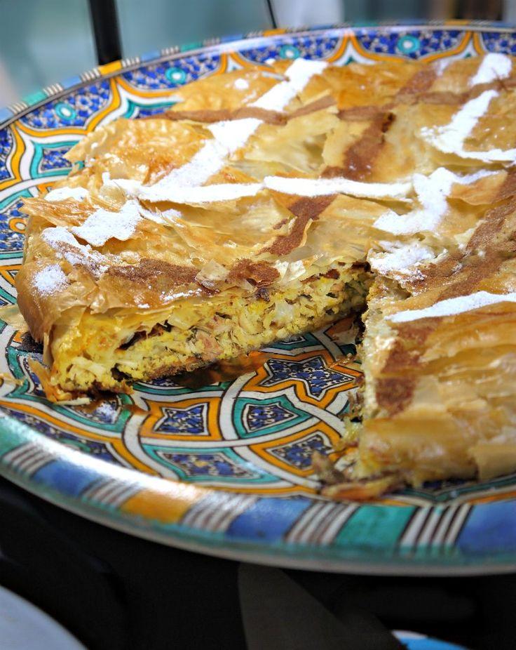 Pastilla (traditional Moroccan dish) - Μαροκινή Παστίγια με ορτύκια ή κοτόπουλο