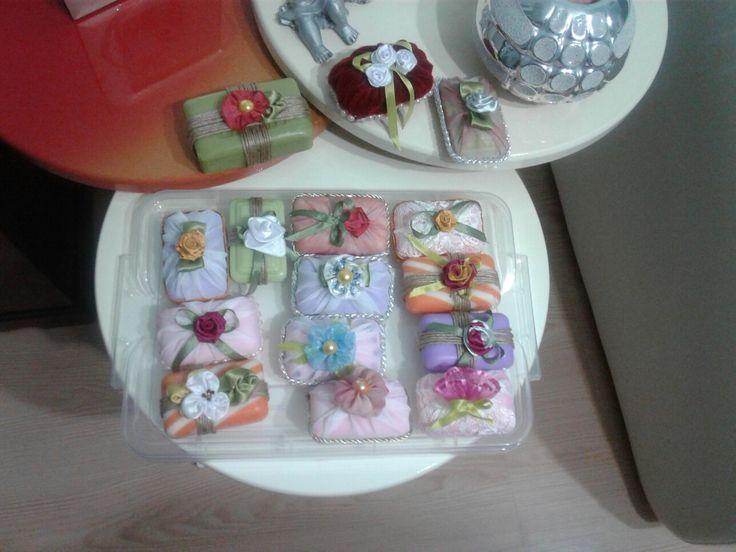 El yapımı sabunlar