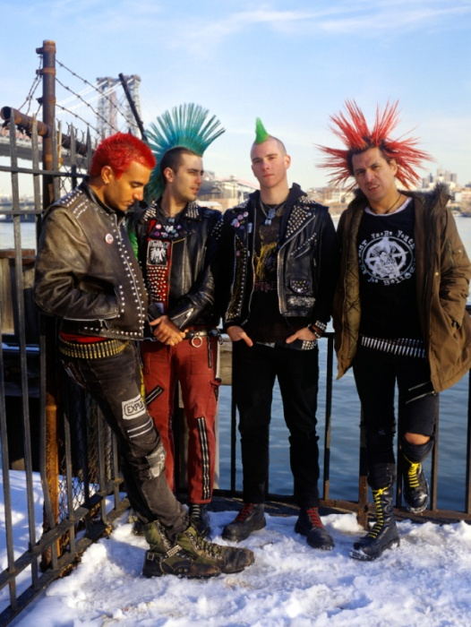 The Casualties. I've always wanted a bf that dressed like this haha <3