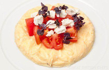 Omelette with Tomato Recipe - Great British Chefs