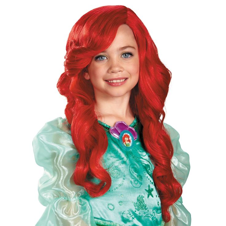 disney ariel kids wig - Red Wigs For Halloween