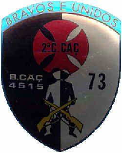 2ª companhia de Caçadores do Batalhão de Caçadores 4515/73 Angola