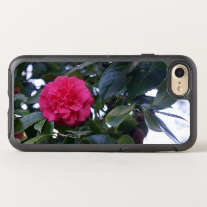 Daikagura Red Camellia OtterBox iPhone 8/7 Case - flowers floral flower design unique style