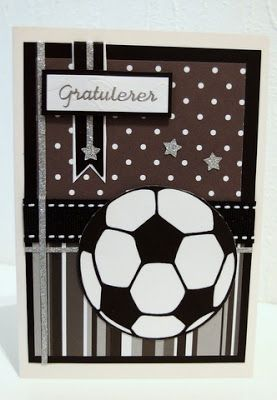 Football card in black and white - MoskiDesign