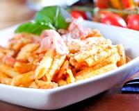 Pennes aux crevettes (facile, rapide) - Une recette CuisineAZ