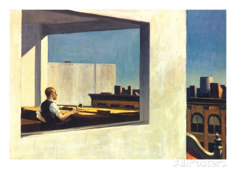 Hopper: Office, 1953 Prints by Edward Hopper at AllPosters.com