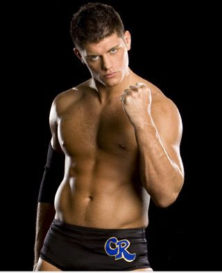 Cody Rhodes..my favorite wwe wrestler. Yummy.