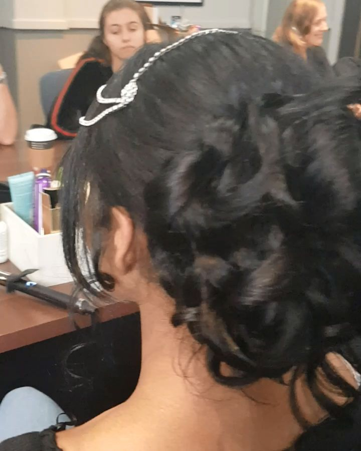 Bridal Hairstyle For Long Hair By Brides By Aina M Long Hair Styles Hair Styles Really Long Hair