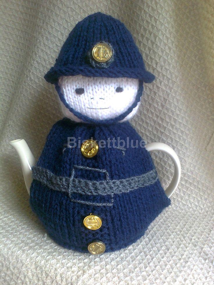 Policeman Tea Cosy - PC cosycuppa