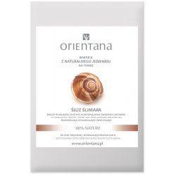 Orientana, Maseczka z jedwabnej tkaniny na twarz `Śluz ślimaka`