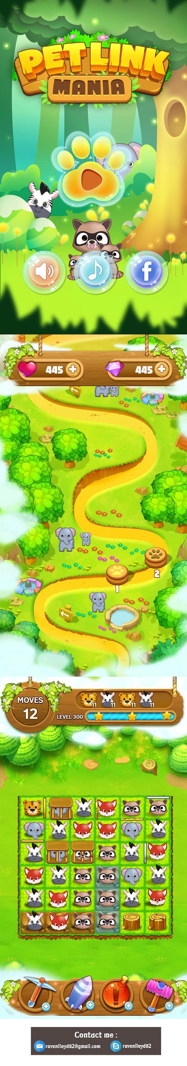 Mobile game - Wild Animal game on Behance