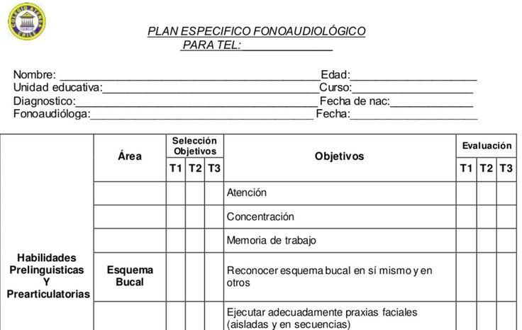 PLAN DE APOYO ESPECÍFICO IDEAL PARA LOGOPEDAS, MAESTROS DE A-L Y FONOAUDÍLOGOS