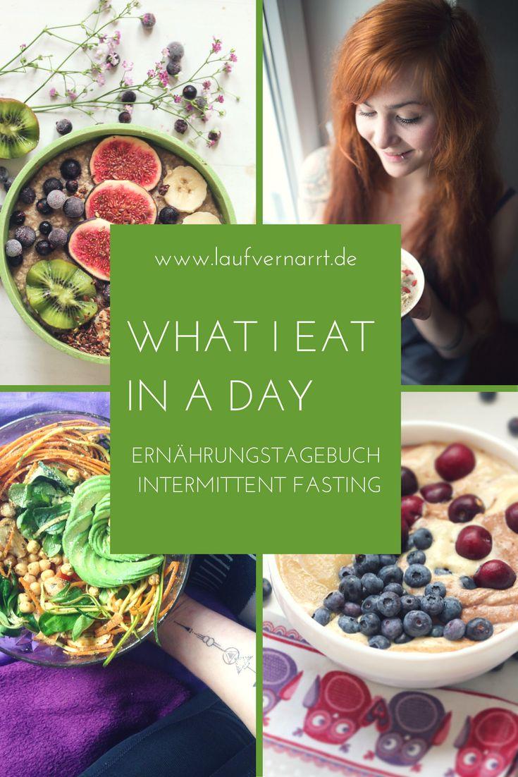 WHAT I EAT IN A DAY - Ernährungsberaterin packt aus. Mein erstes komplettes Essenstagebuch für einen Tag im Intermittent Fasting.