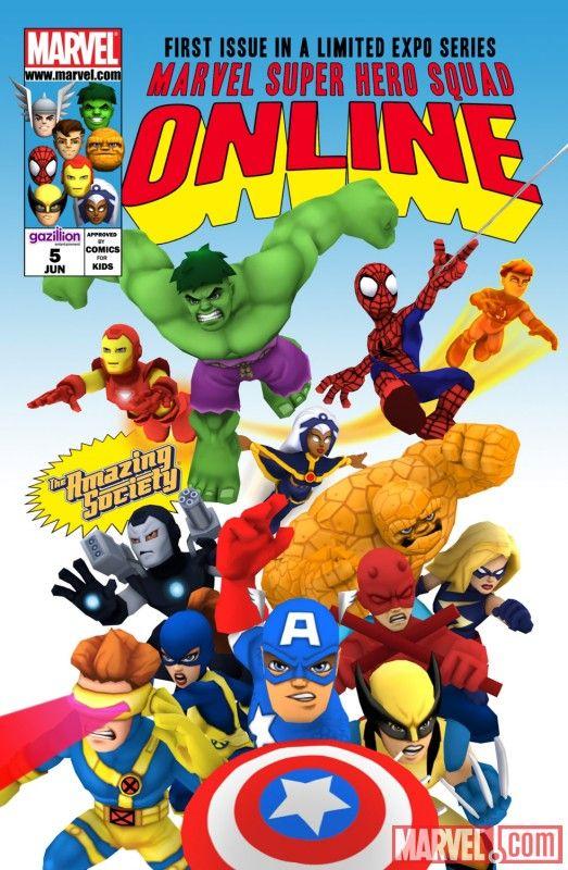 Super Hero Squad Online E3 2010 promotional comic